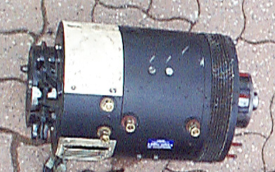 used electric forklift motor