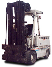 Baker electric forklift